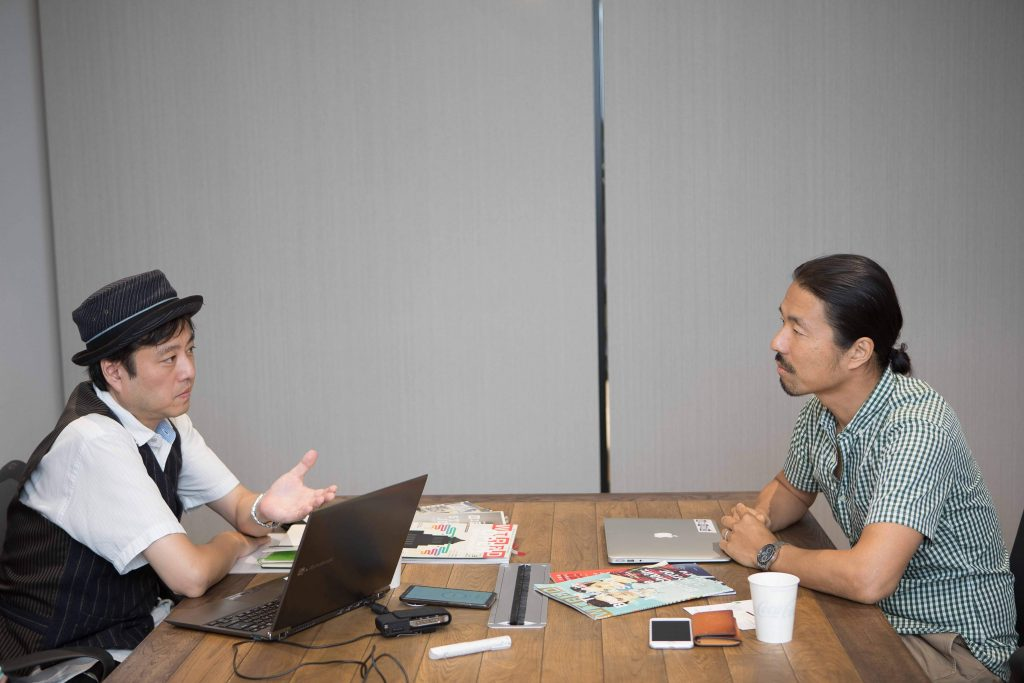 Mr. Matsushima, editor-in-chief the new Japanese edition of WIRED, talks about